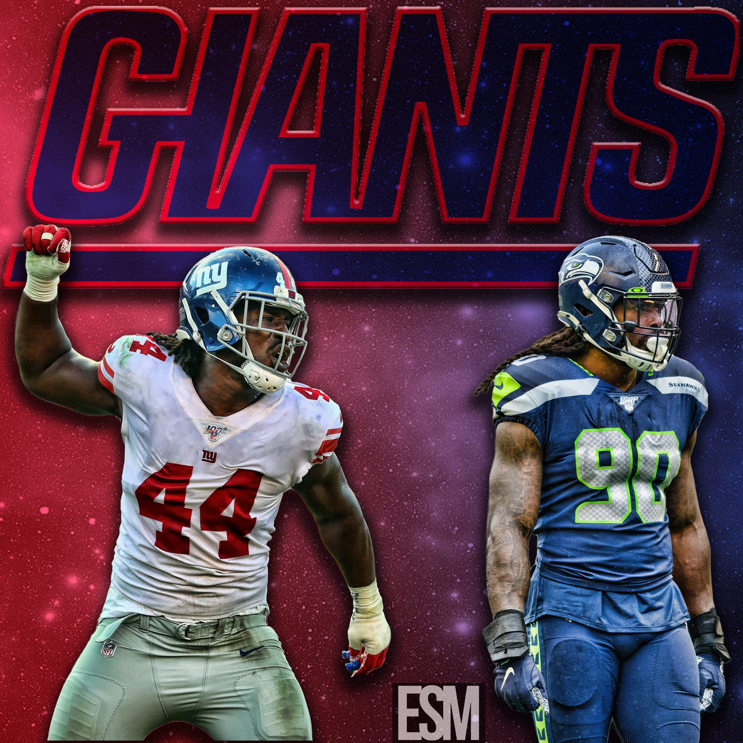 New York Giants, Jadeveon Clowney, Markus Golden