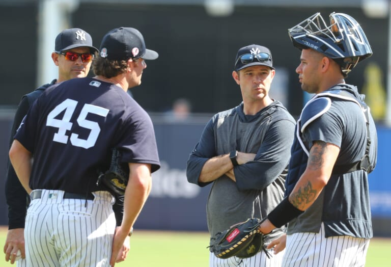 New York Yankees, Gary Sanchez, Gerrit Cole, Aaron Boone
