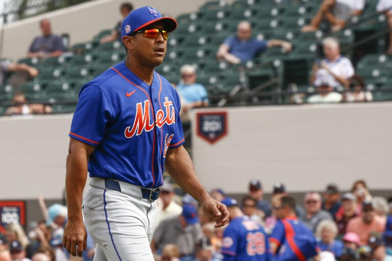 Mets move on from manager Luis Rojas after disappointing season