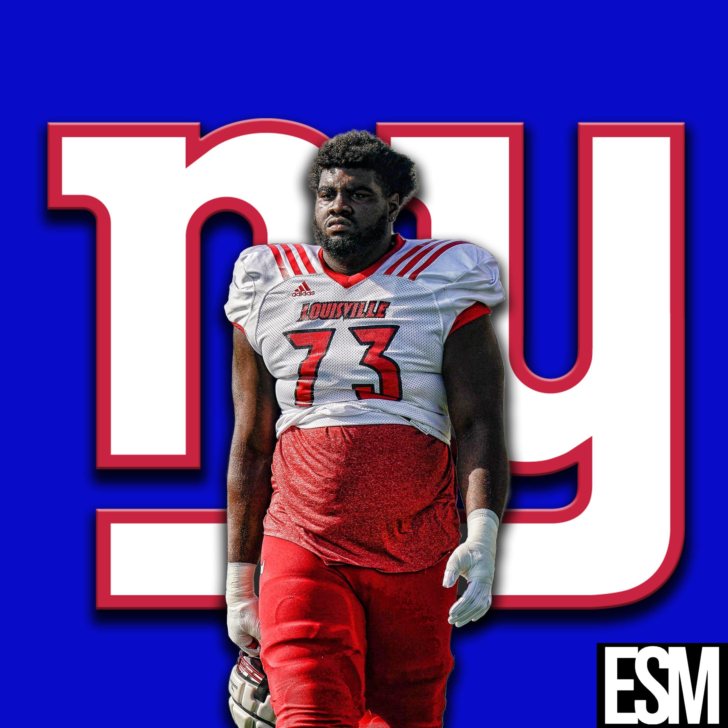 New York Giants, Mekhi Becton