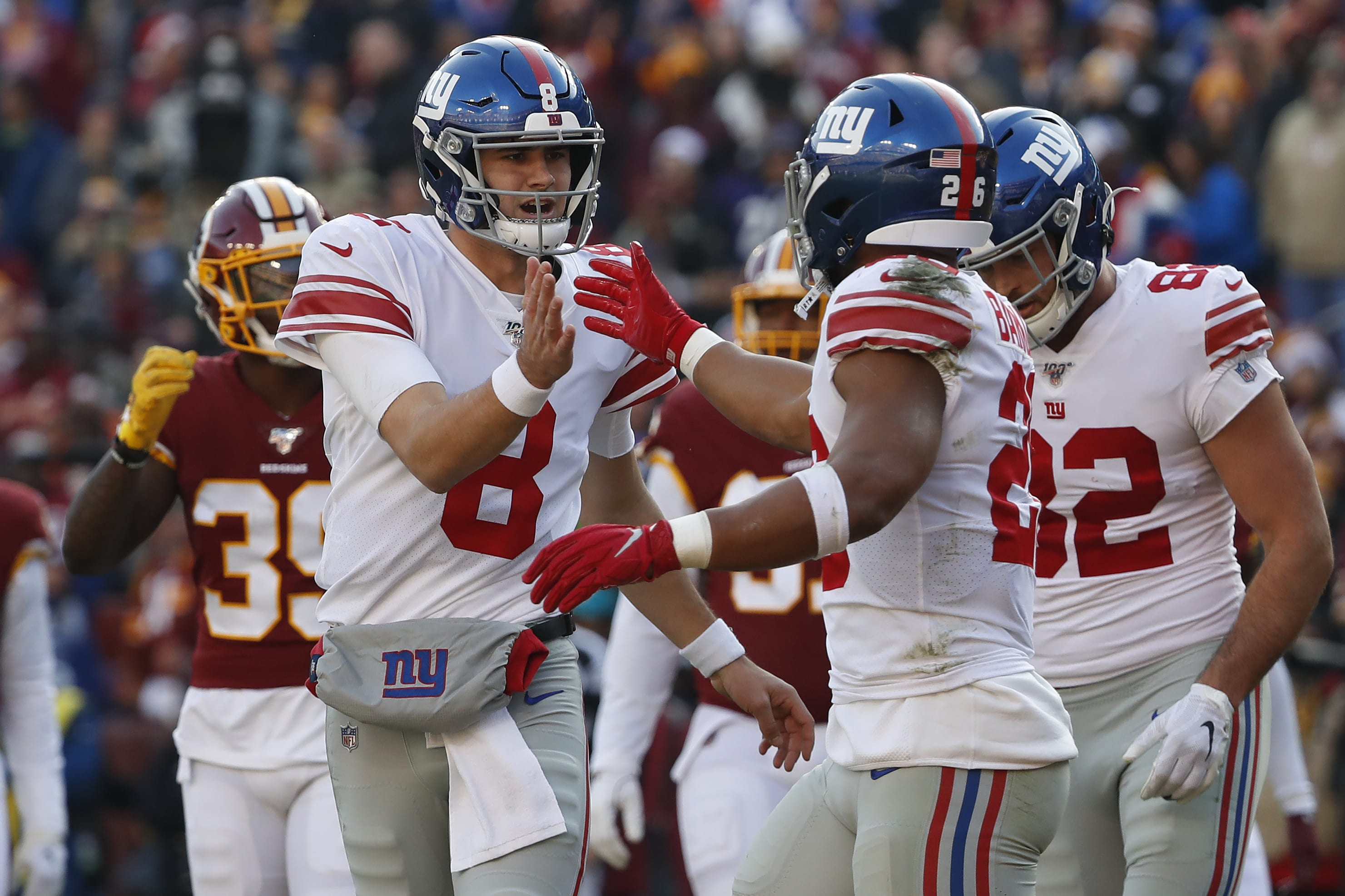 Daniel Jones, Saquon Barkley, New York Giants