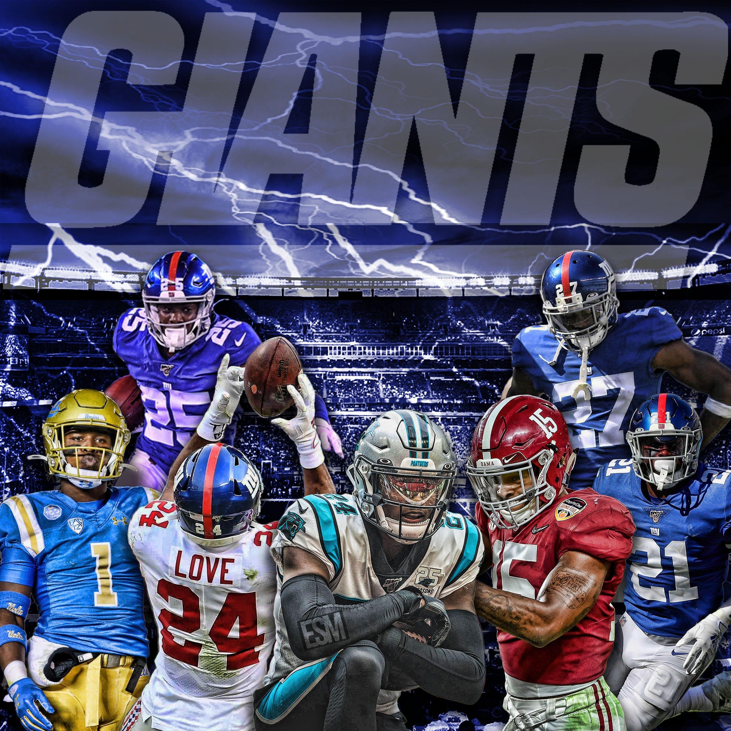 New York Giants, Darnay Holmes, Julian Love, Jabrill Peppers, DeAndre Baker, Xavier McKinney, Corey Ballentine