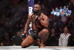 For Tyron Woodley, it's sink or swim at UFC Vegas 11