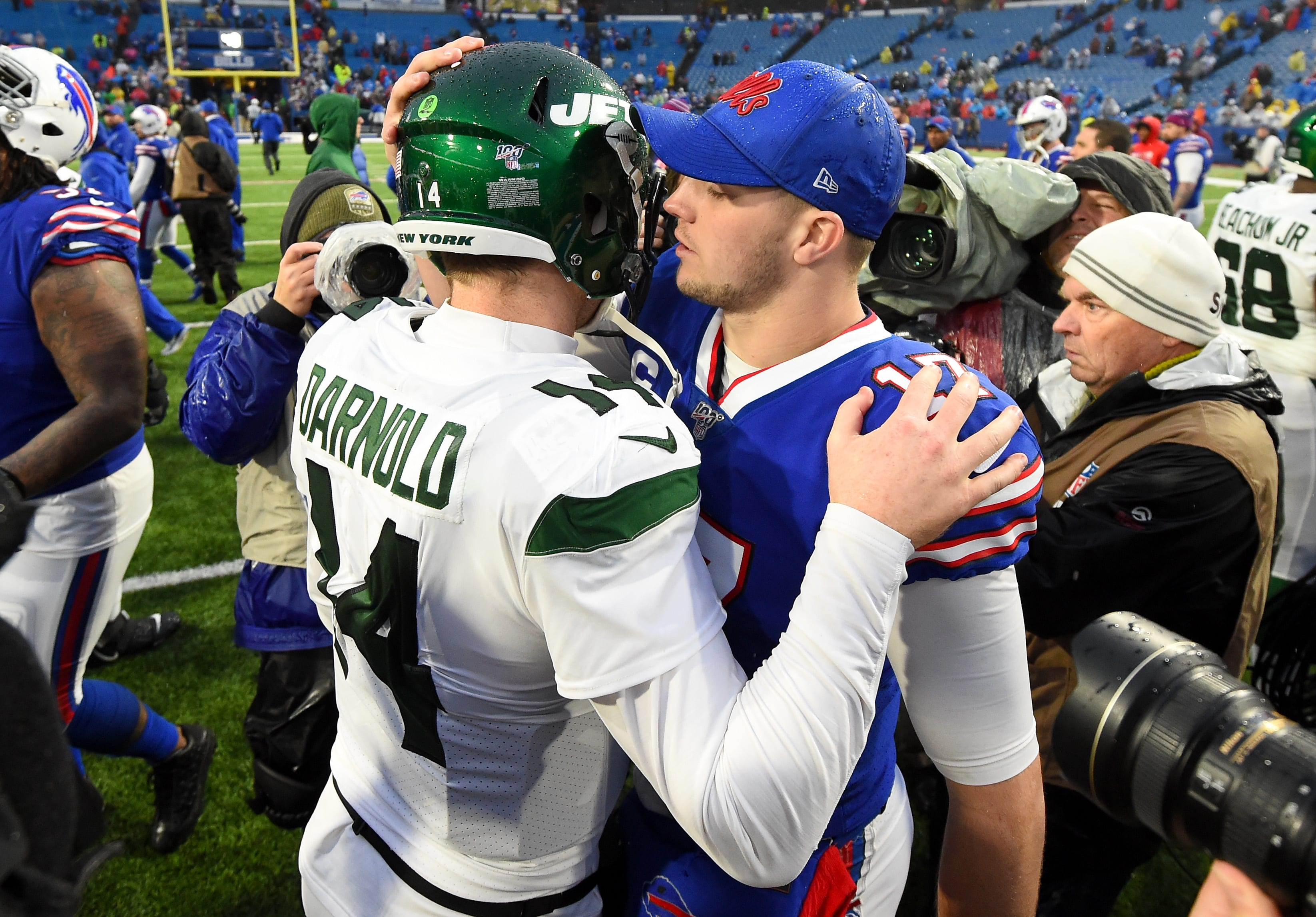 New York Jets, Sam Darnold, Josh Allen, Buffalo Bills
