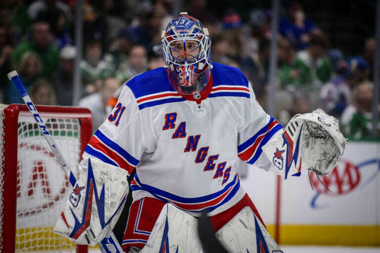 The New York Rangers will be without Igor Shesterkin for at least Saturday