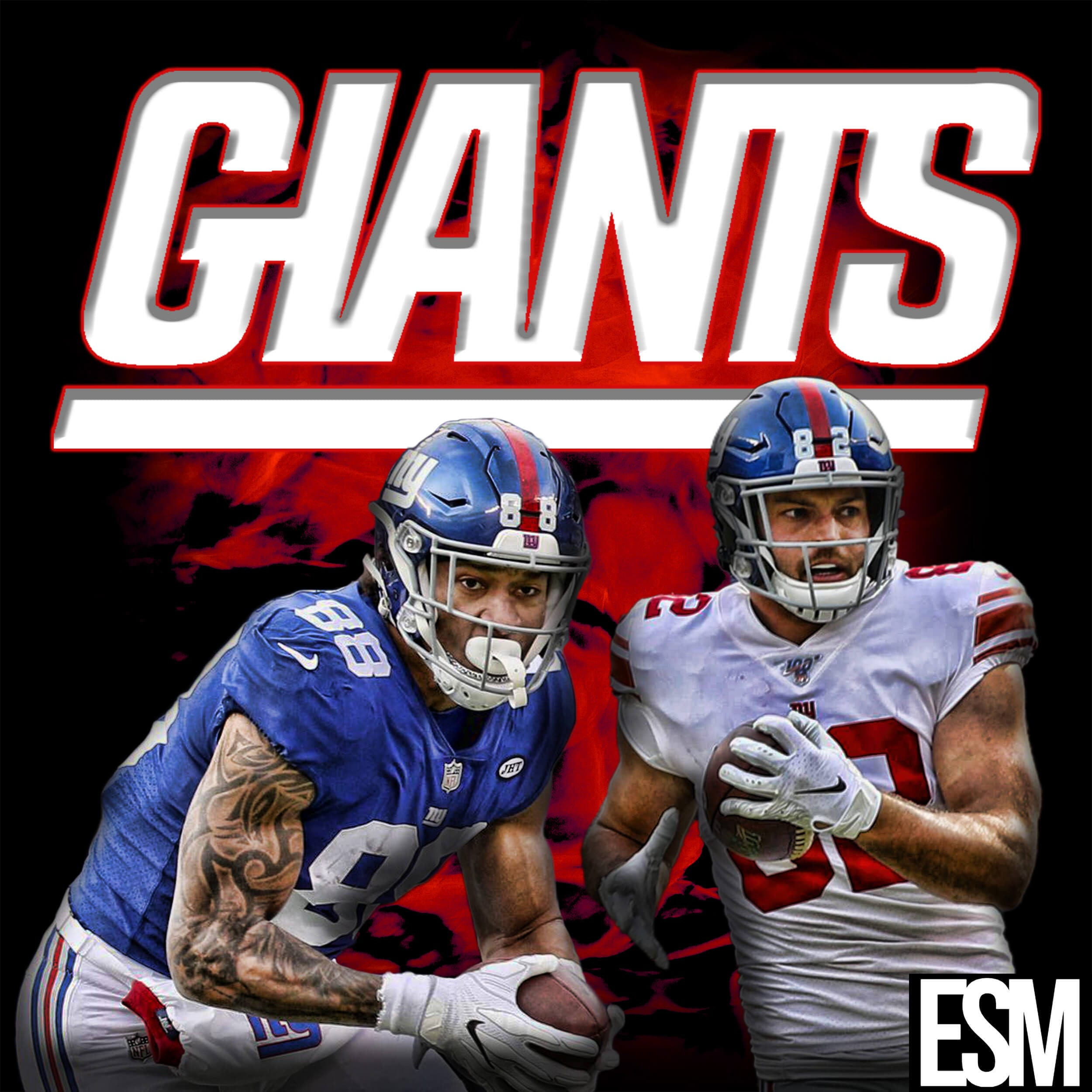 New York Giants, Evan Engram, Kaden Smith