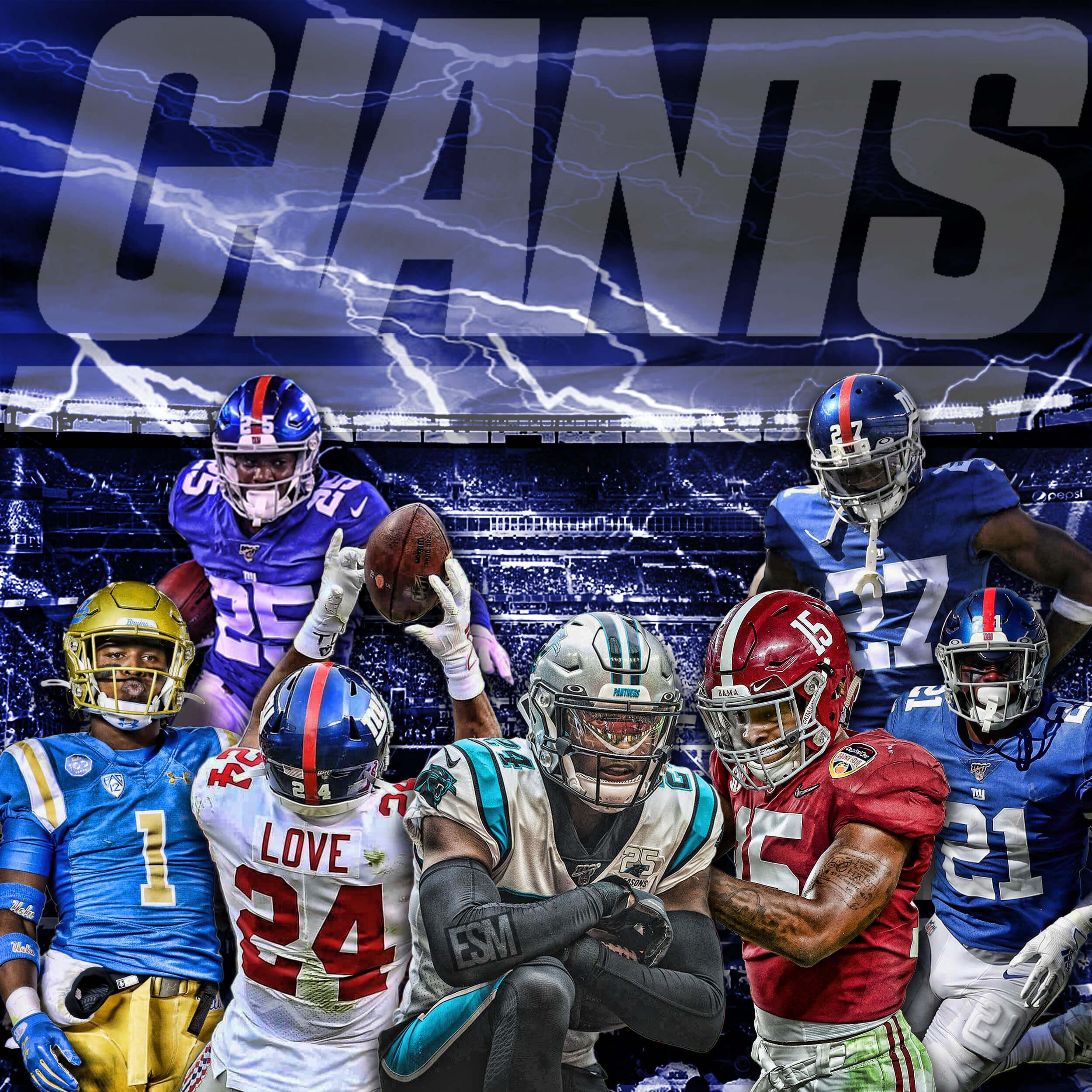 New York Giants, James Bradyberry, Darnay Holmes, Julian Love, Xavier McKinney