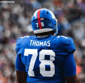 New York Giants staff plans to keep working with Andrew Thomas