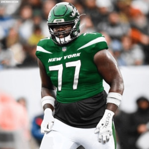 Should the New York Jets' offensive line be expected to improve?
