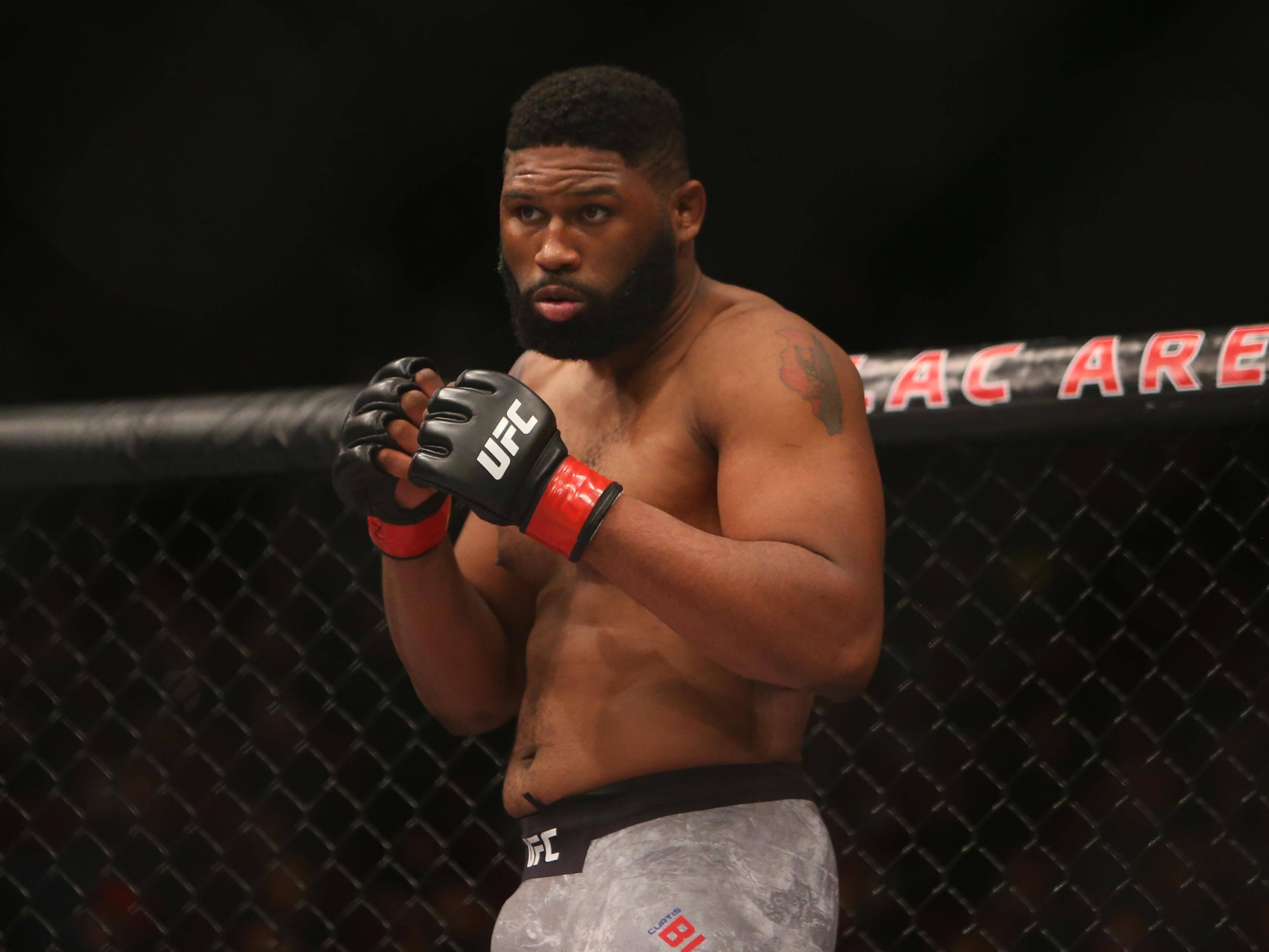 Curtis Blaydes, UFC