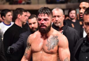 What should the UFC do with Mike Perry?