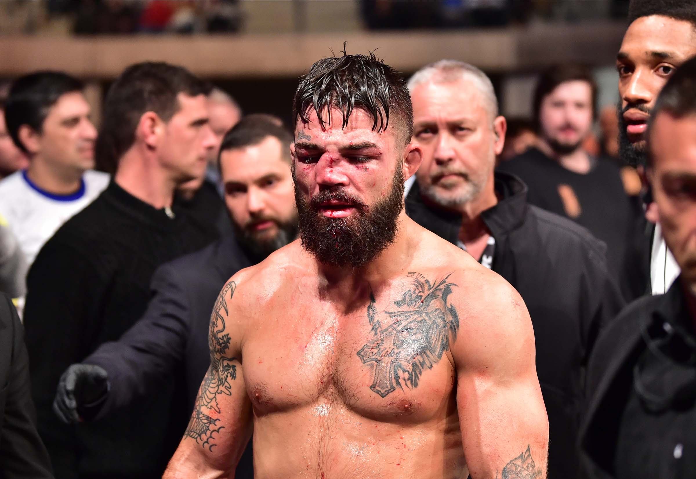 UFC's Mike Perry 'Spills own blood' in alarming social media posts