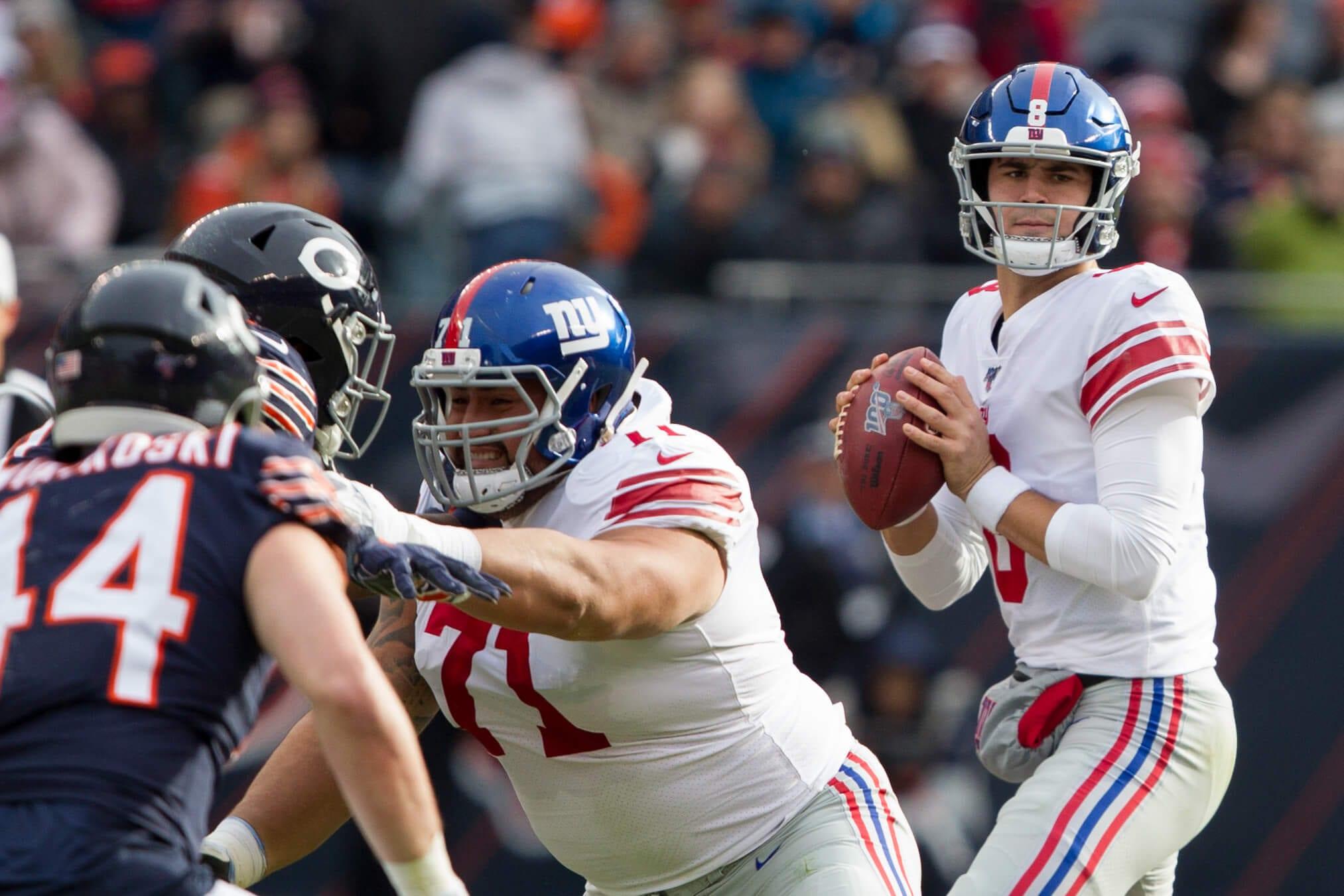 New York Giants, Will Hernandez, Daniel Jones
