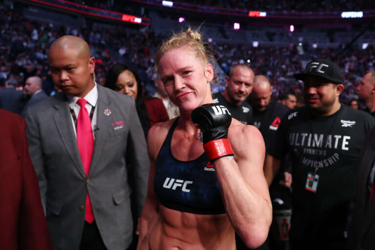 UFC: Holly Holm injured and out of Julianna Pena fight