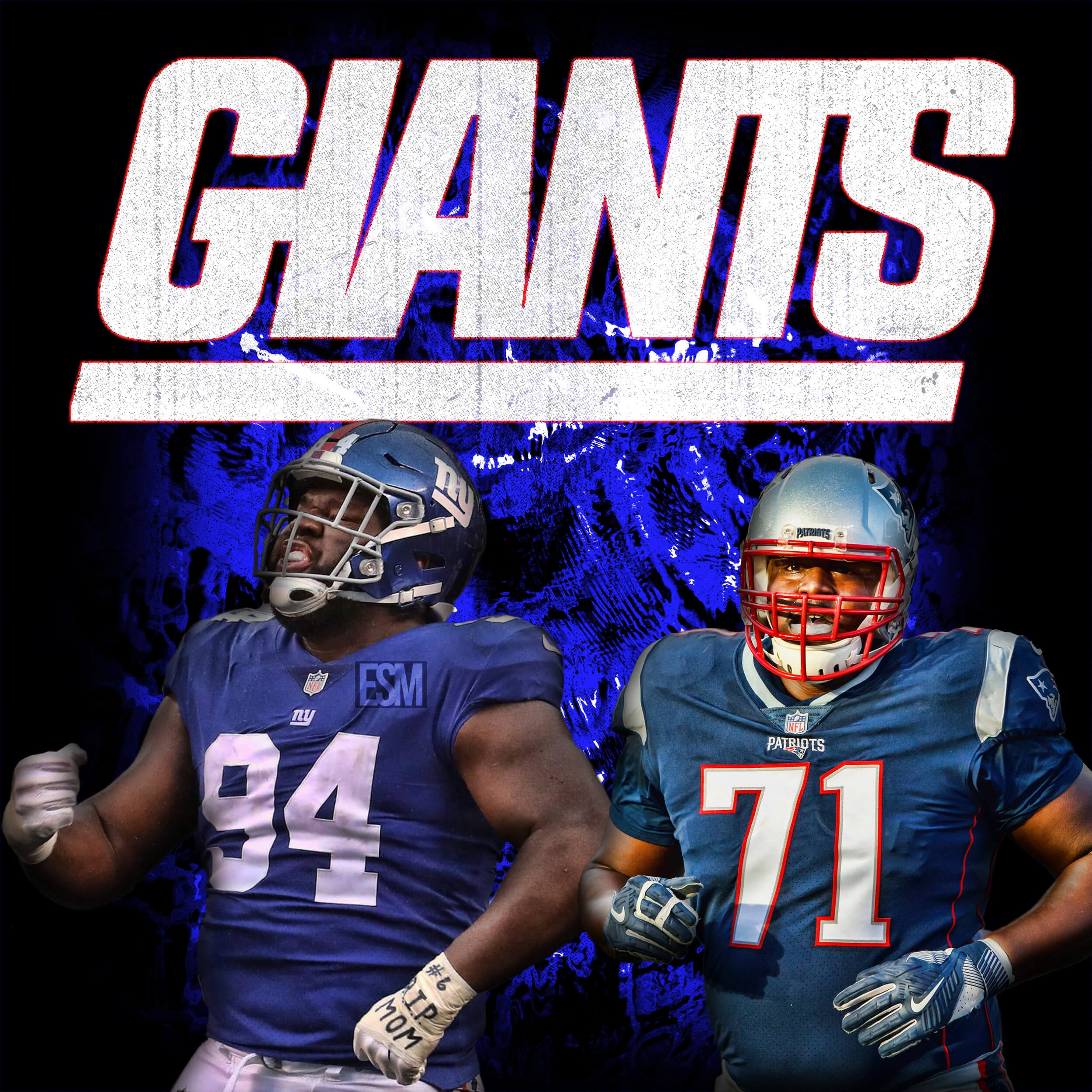 New York Giants, Cameron Fleming, Dalvin Tomlinson