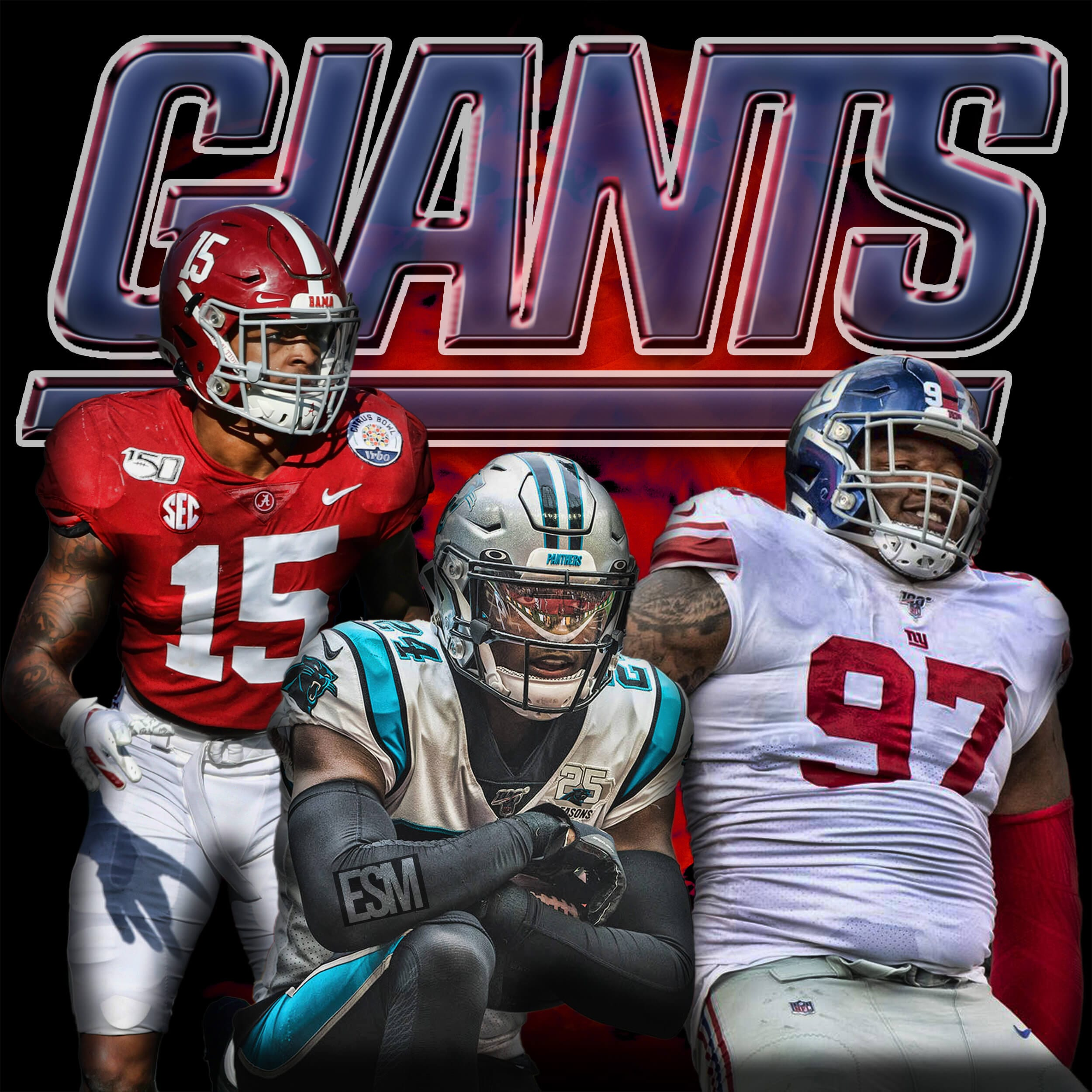 New York Giants, James Bradberry, Dexter Lawrence, Xavier McKinney