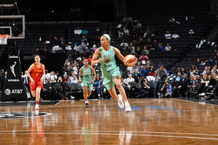 New York Liberty: Asia Durr tells her COVID story on HBO's Real Sports