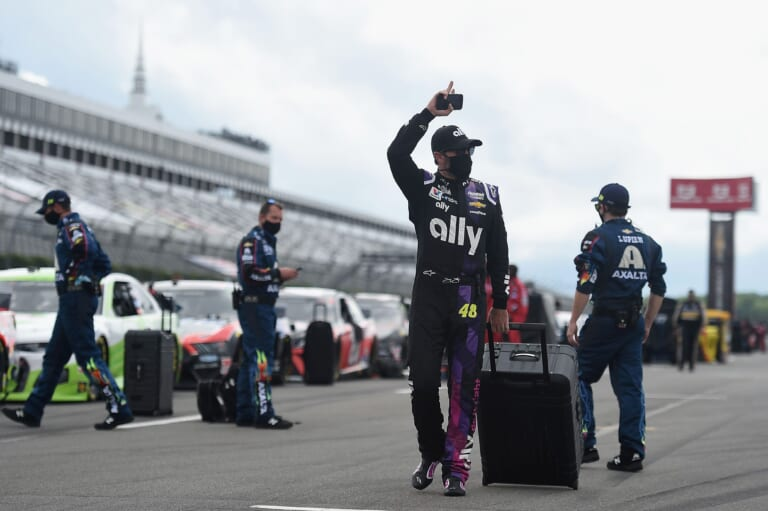 NASCAR: Jimmie Johnson speaks about his return to the track
