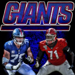New York Giants, Nate Solder, Andrew Thomas