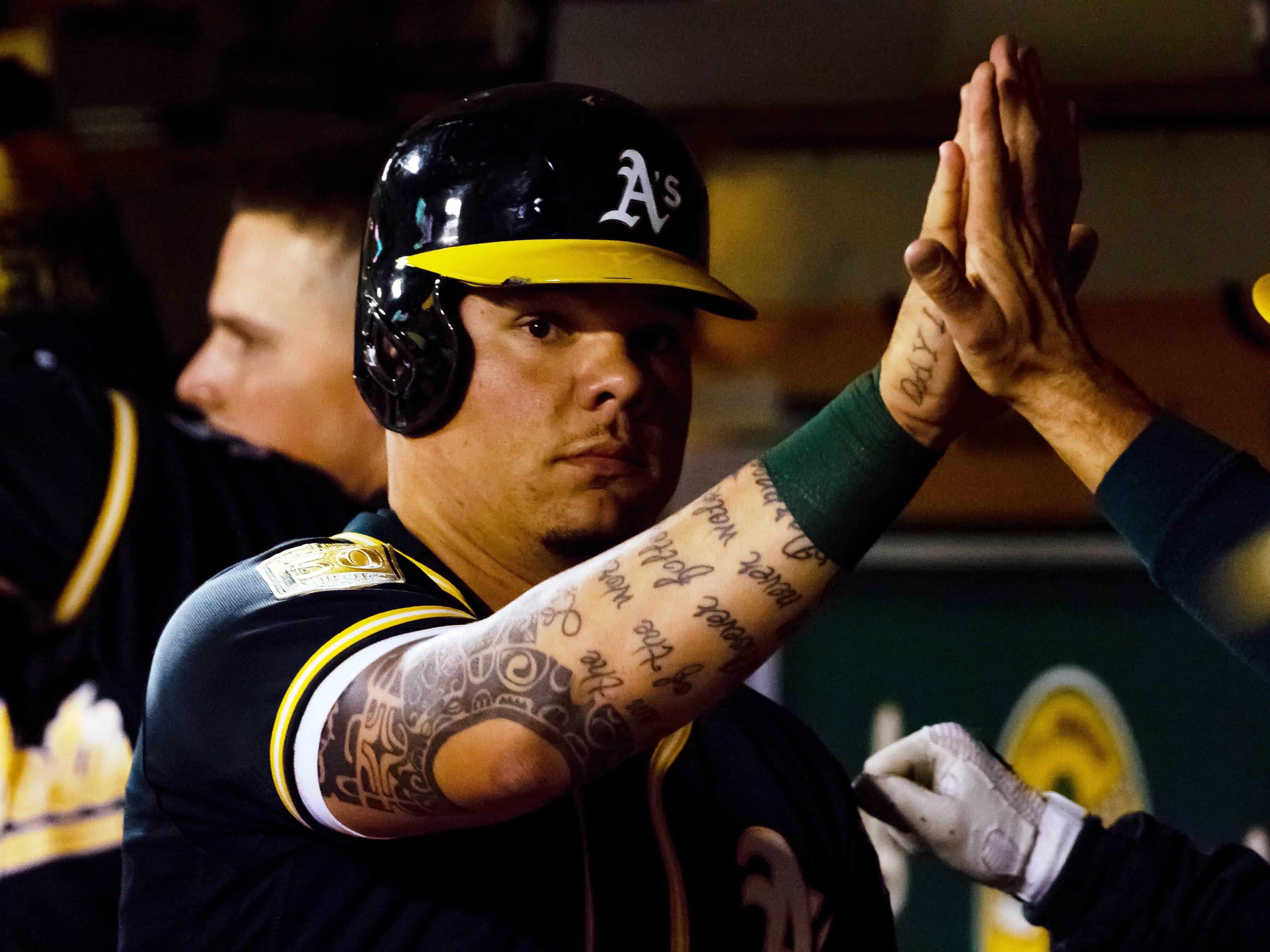 Oakland Athletics, Bruce Maxwell