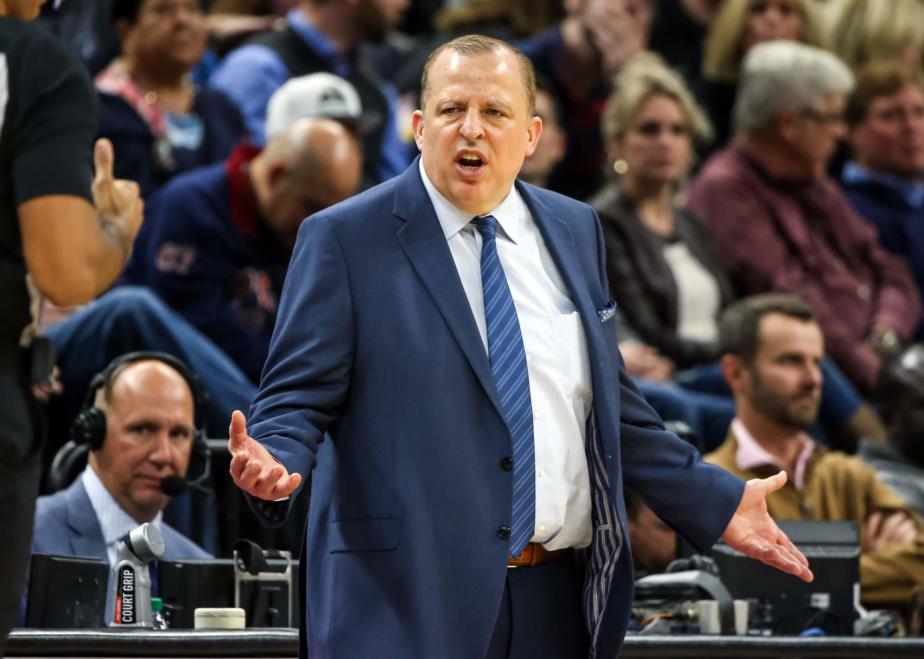 New York Knicks, Tom Thibodeau