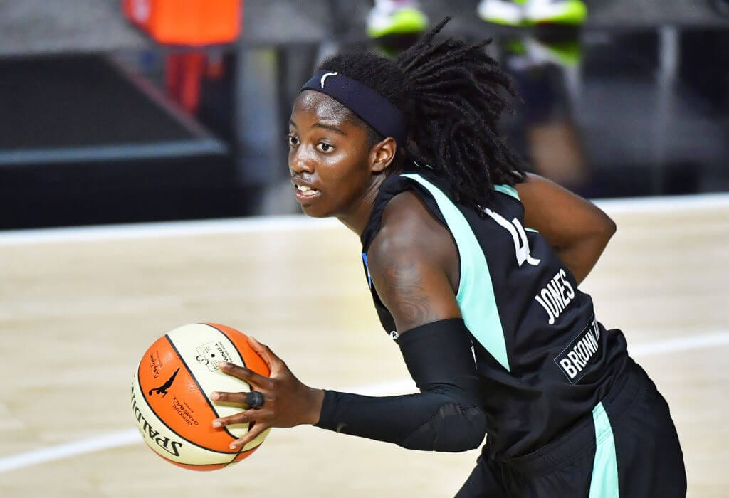 Jazmine Jones, New York Liberty