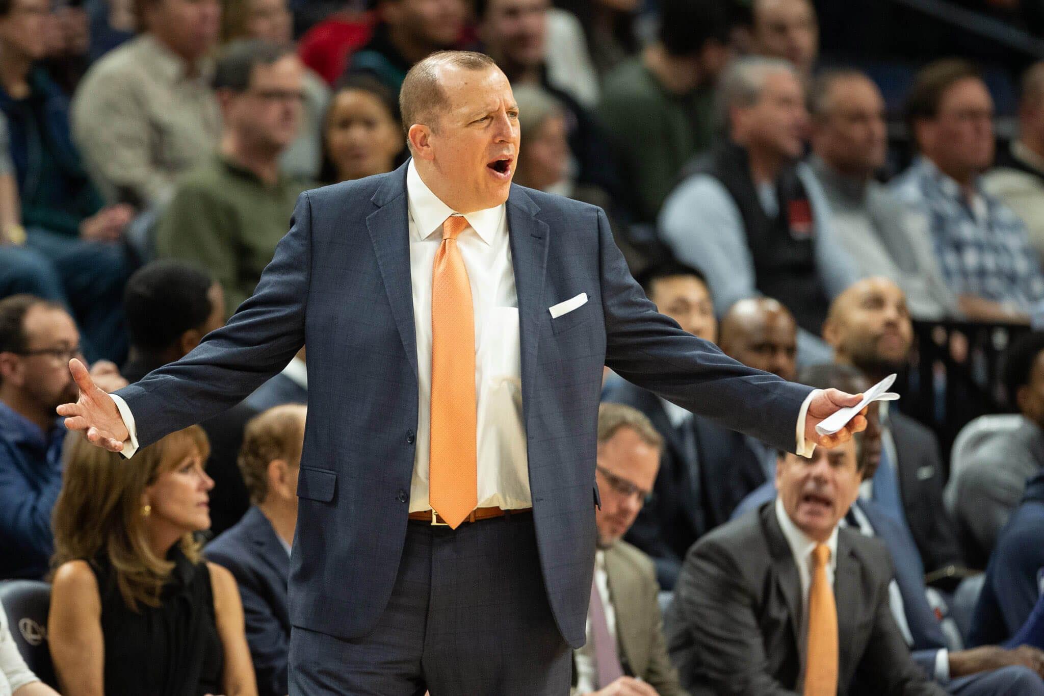 New York Knicks, Tom Thibodeau