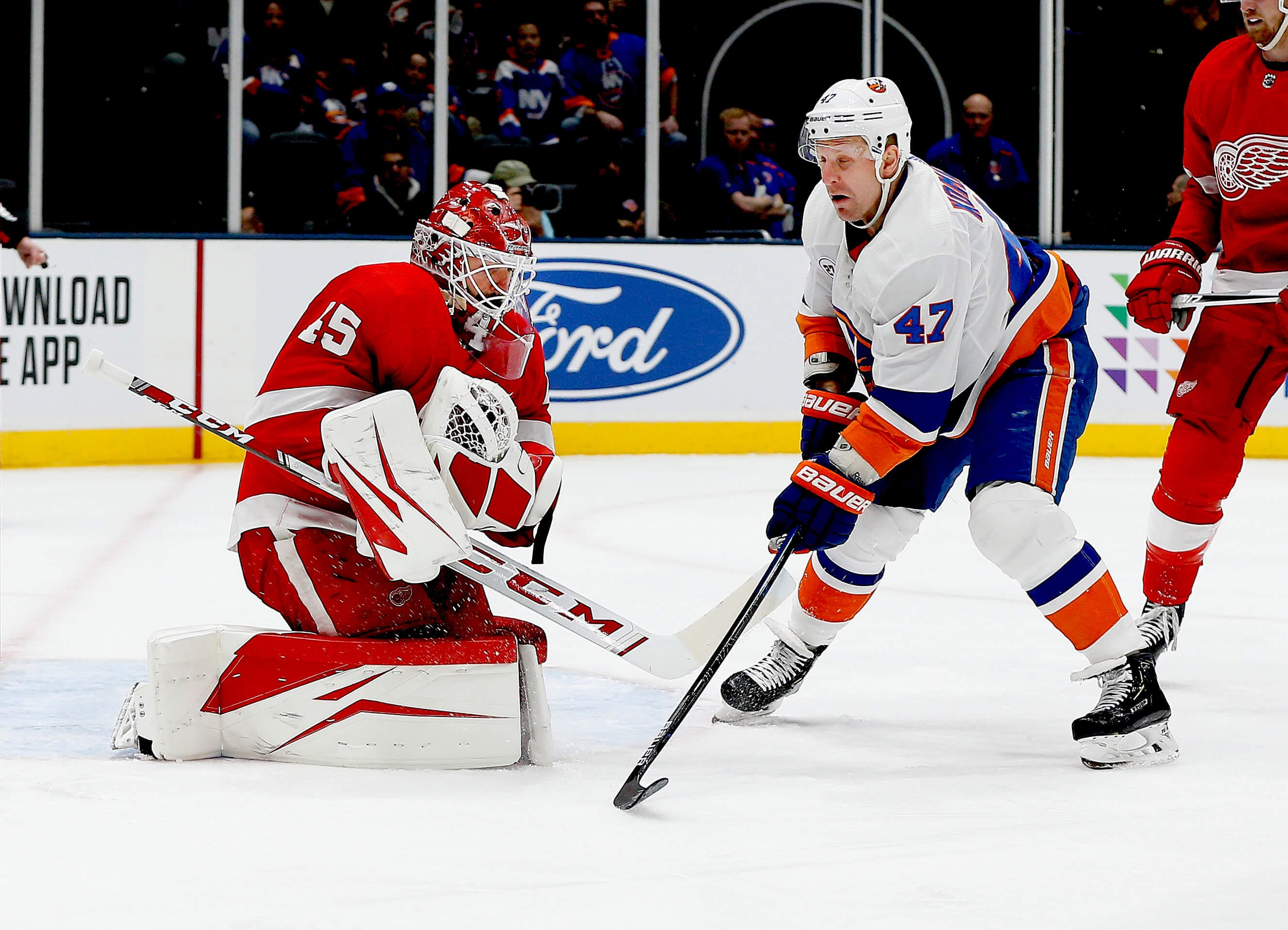 Leo Komarov has been one of the Islanders' unsung heroes of the playoffs so  far