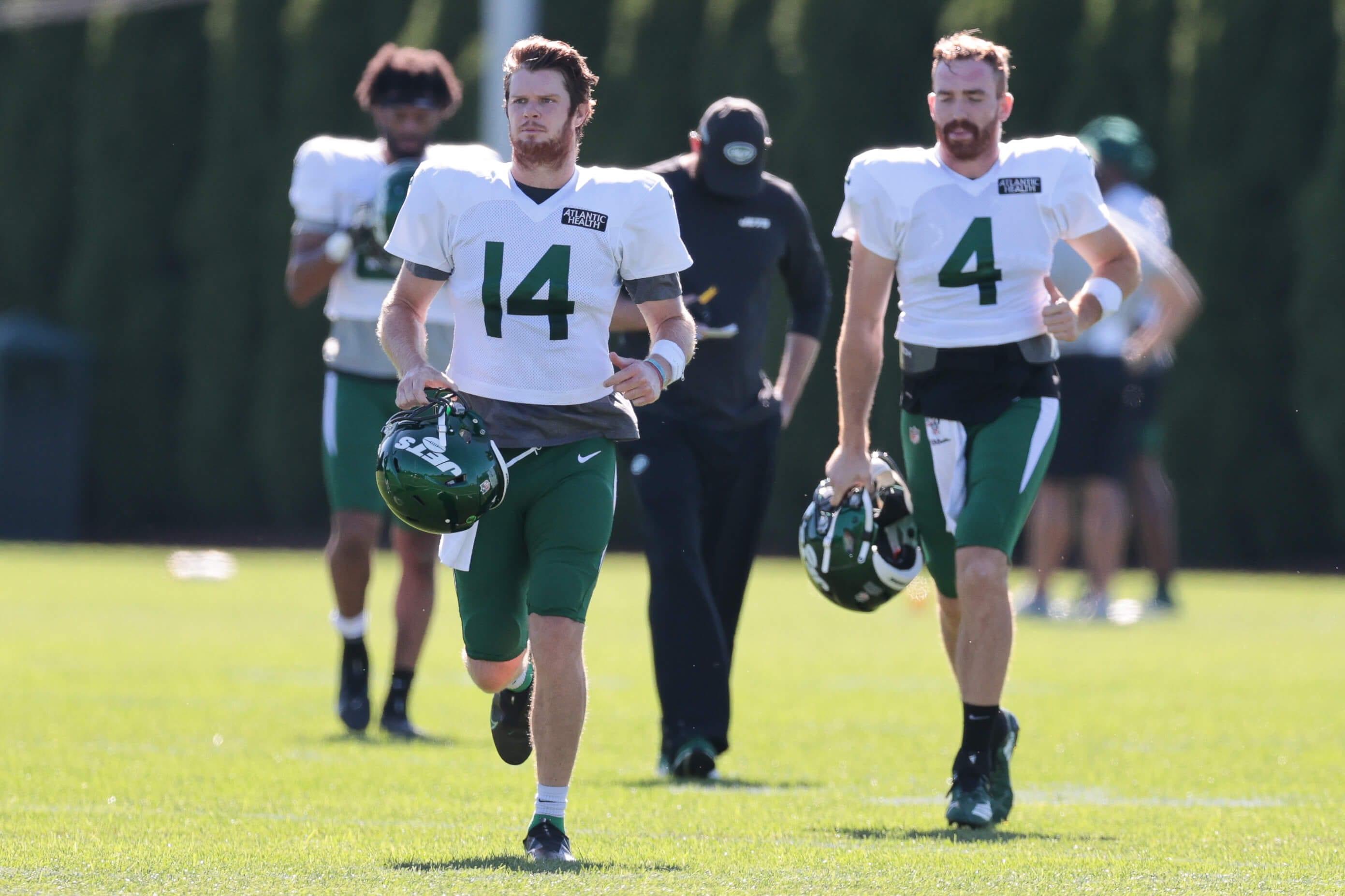 New York Jets, Sam Darnold, James Morgan