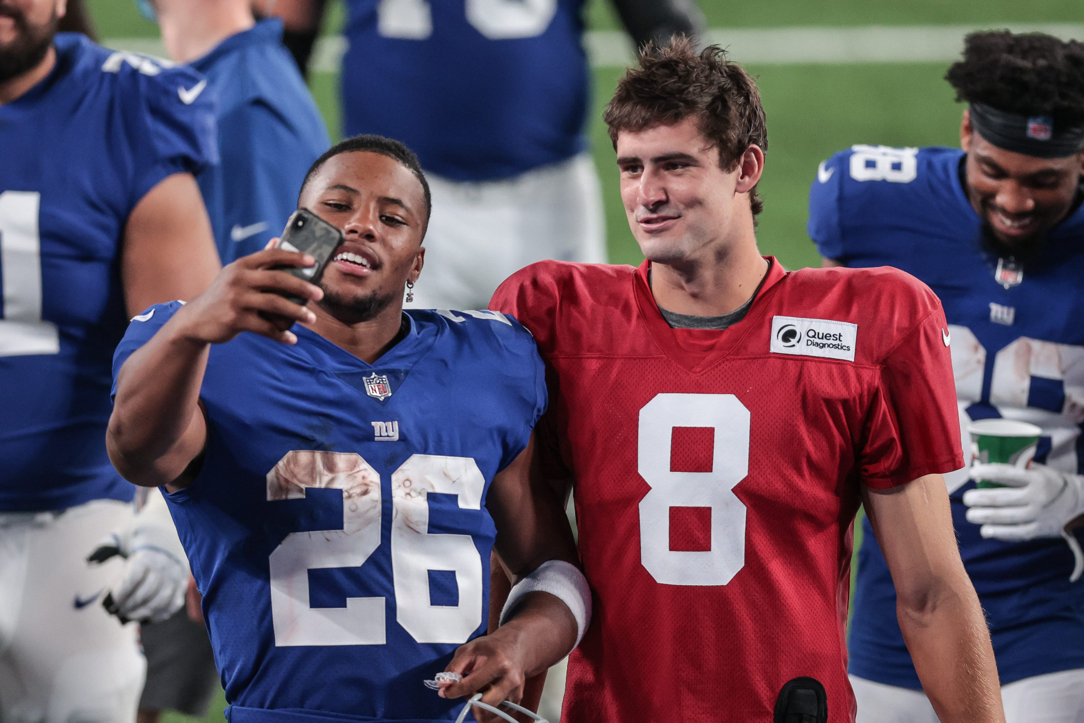 New York Giants, Daniel Jones, Saquon Barkley