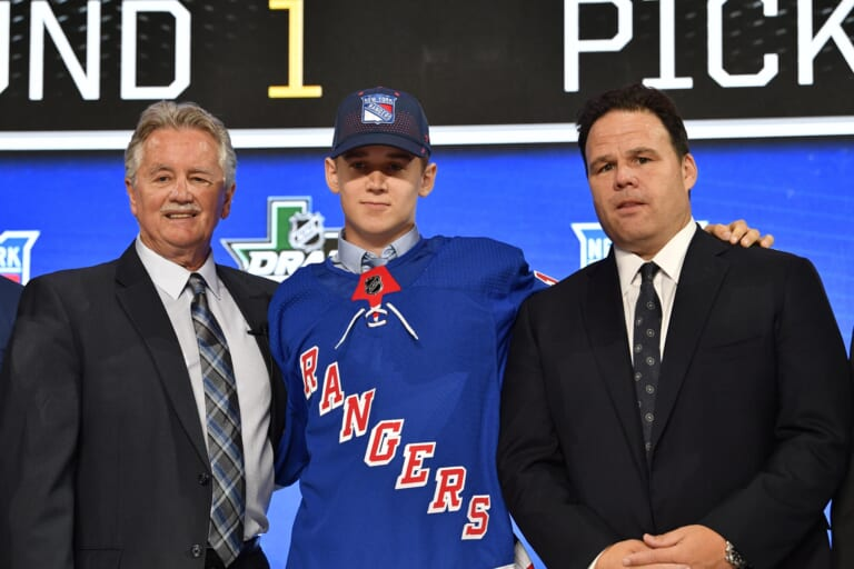 New York Rangers lock in 22nd pick with Islanders advancement to ECF