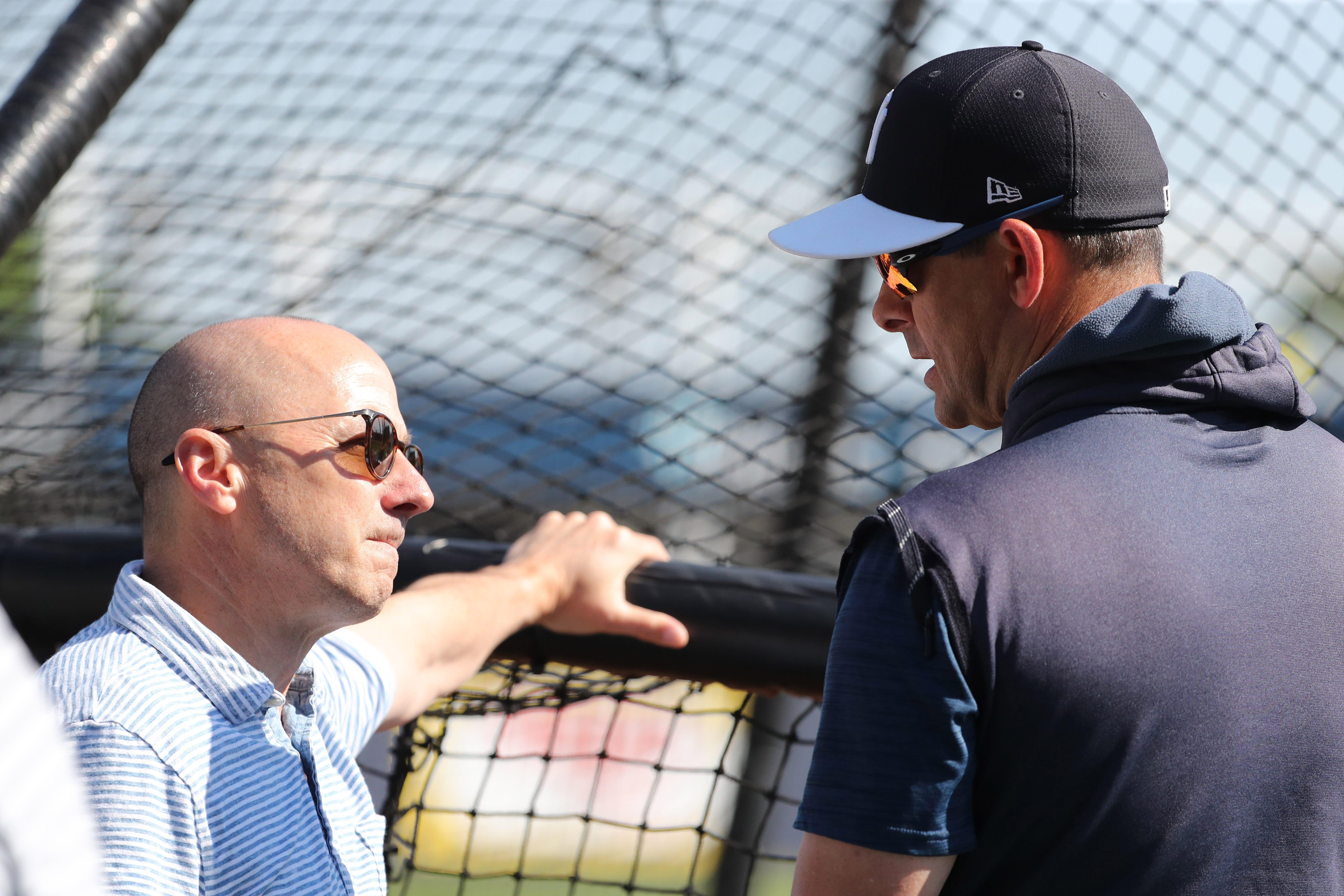 New York Yankees, Aaron Boone, Brian Cashman
