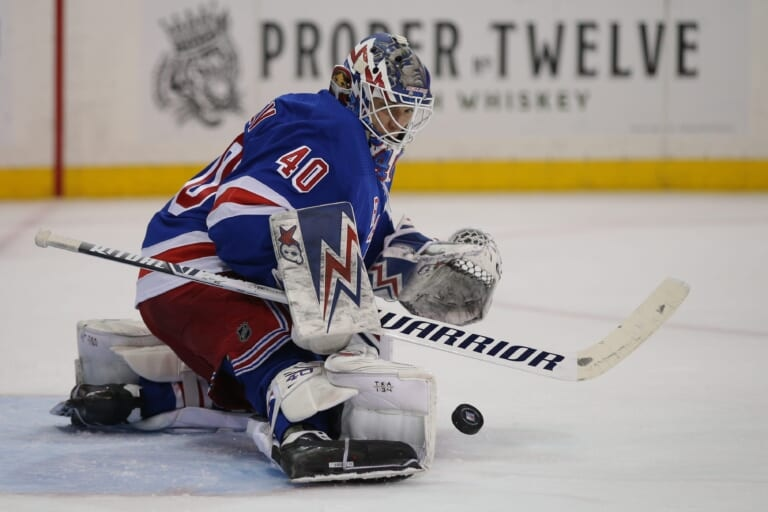 The New York Rangers bounce back in a big way