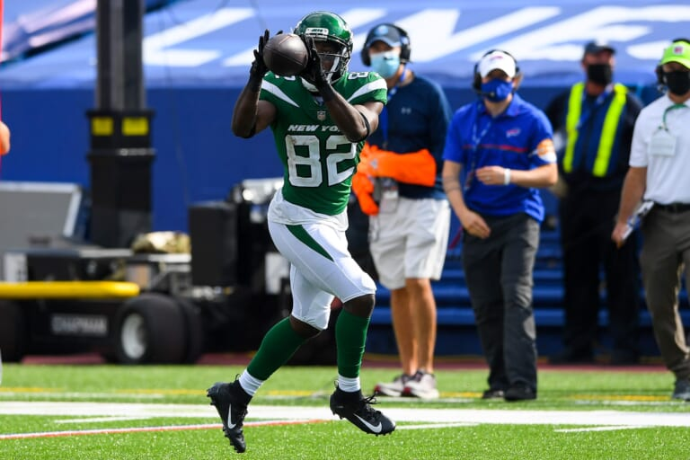 New York Jets WR Jamison Crowder activated from COVID-19 list