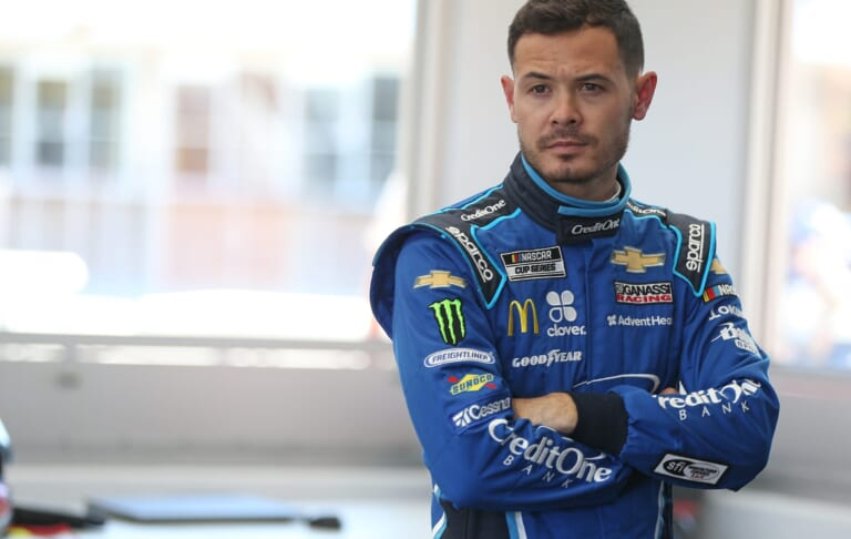 NASCAR officials say Kyle Larson has applied for reinstatement