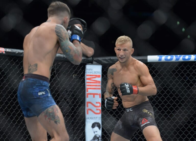 UFC Vegas 32 Results: TJ Dillashaw edges Cory Sandhagen in an instant classic