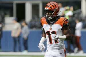 Should the New York Giants trade for Bengals WR John Ross?