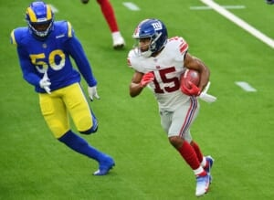 New York Giants: Golden Tate's role in the offense diminishing by week
