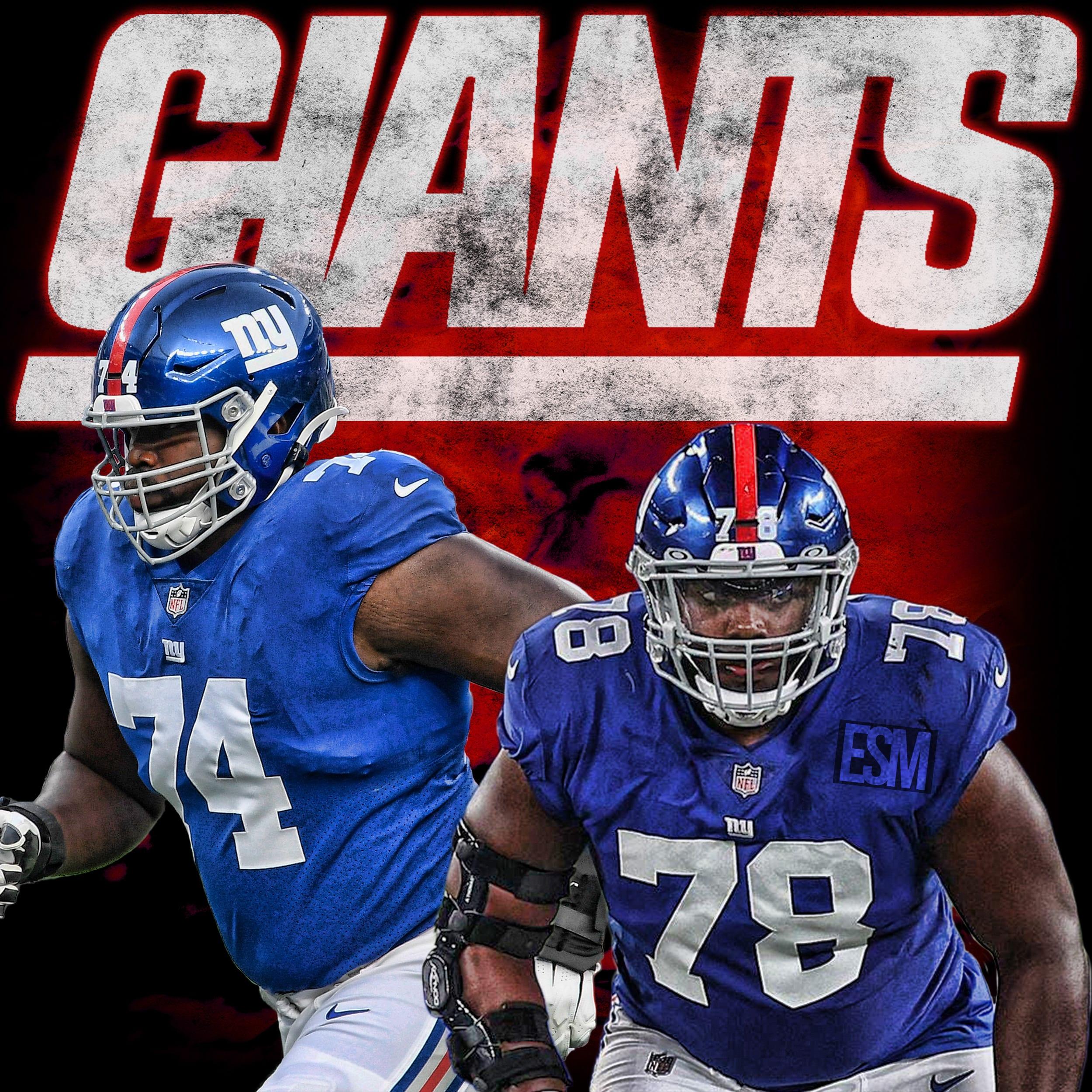 New York Giants, Andrew Thomas, Matt Peart