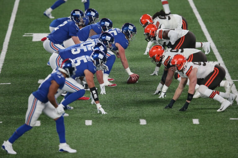 New York Giants, Cleveland Browns