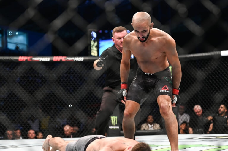 Ottman Azaitar was removed from UFC 257 due to protocol violations (Updated)