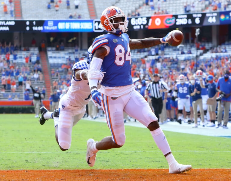 Should the New York Giants be considering TE Kyle Pitts form Florida with the 11th overall pick?