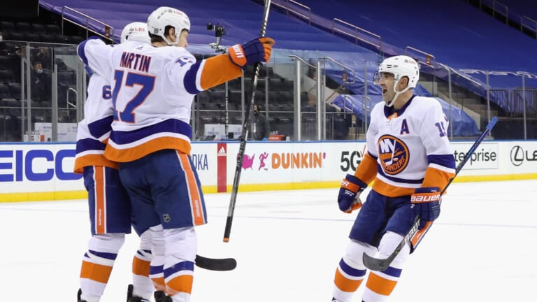 The Islanders' fourth line coming out of it slumber at the perfect time