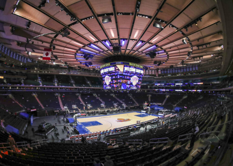 New York Knicks: When The Garden comes alive in new normal