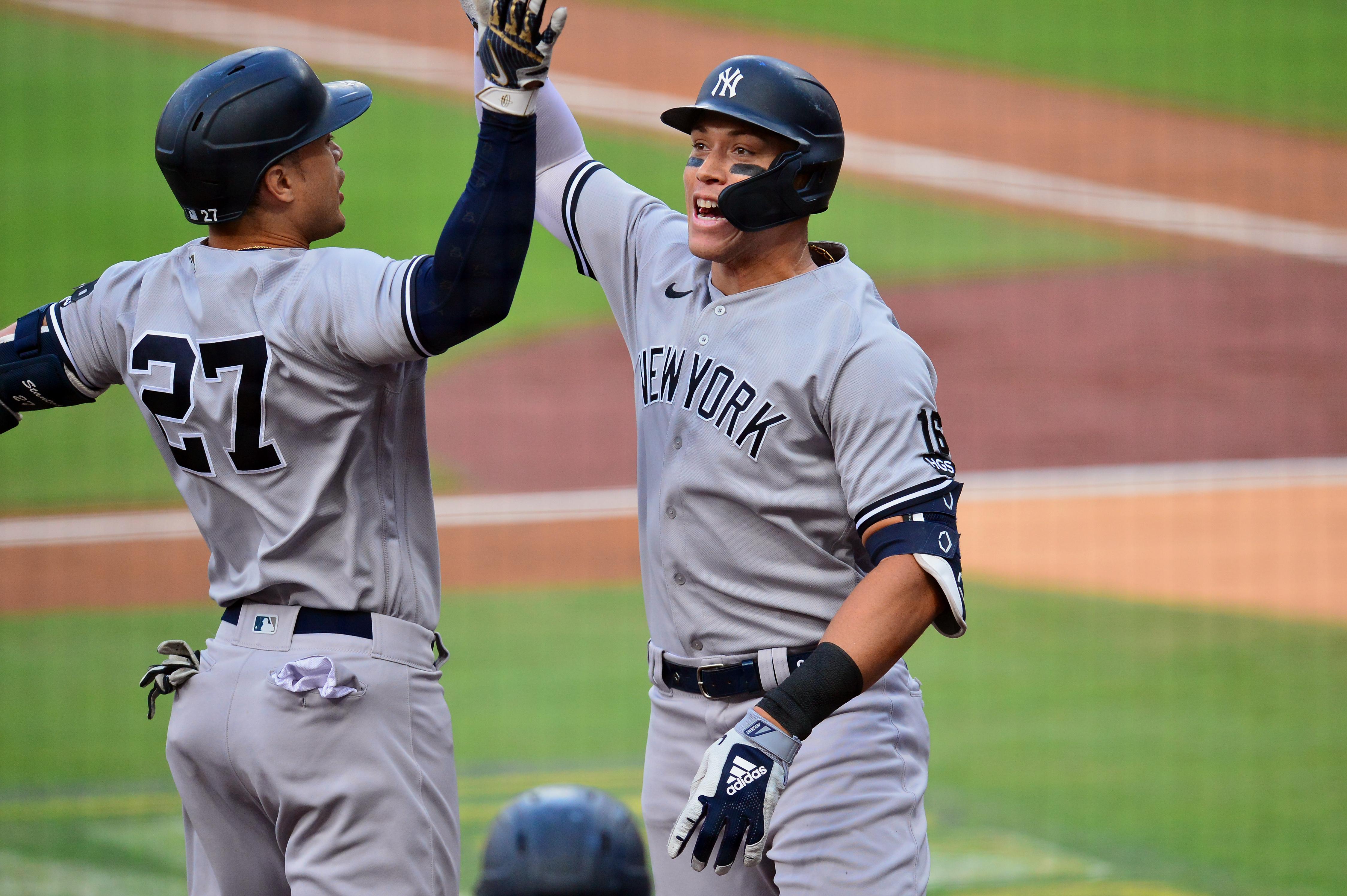 New York Yankees, NYY, Aaron Judge, Giancarlo Stanton