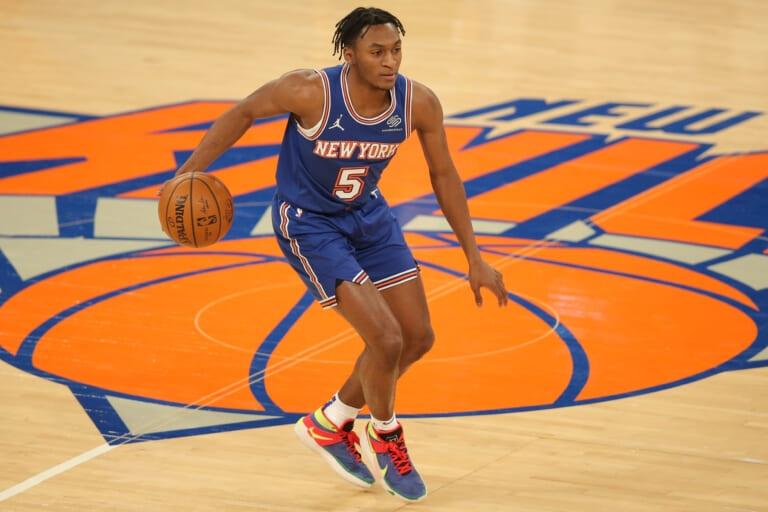 imannuel quickley, new york knicks