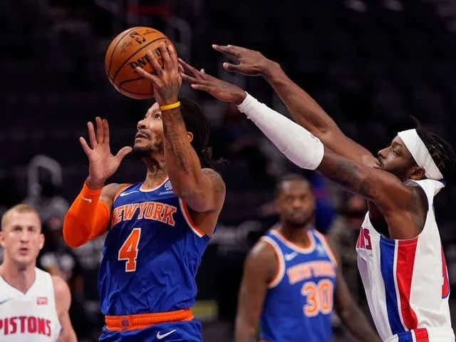 Motown Beatdown: Knicks seize solo fourth after routing Pistons