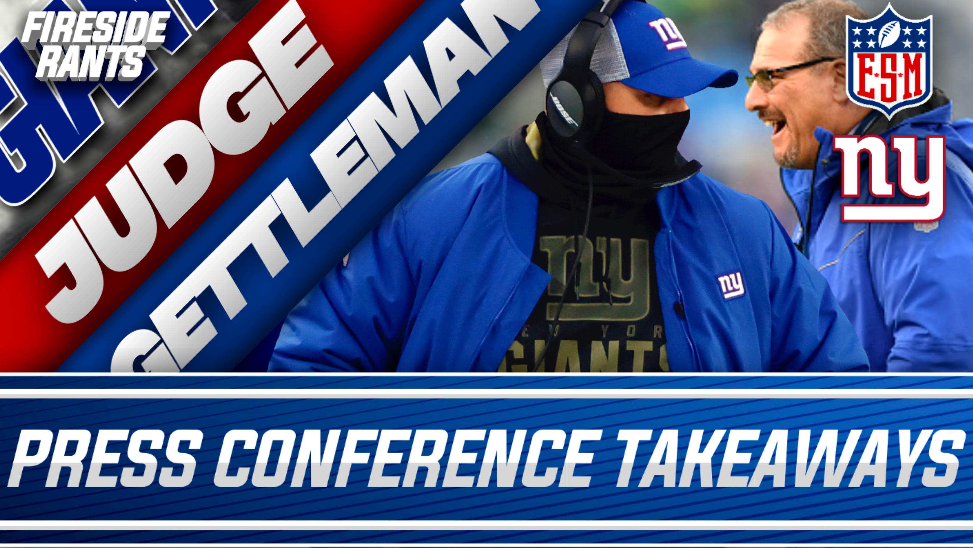New York Giants, Dave Gettleman, Joe Judge