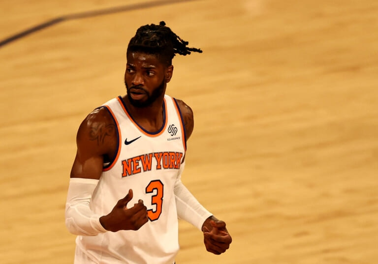 The New York Knicks are bringing the most out of their reserve big-man