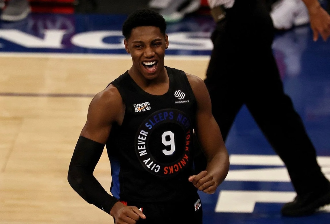 new york knicks, rj barrett